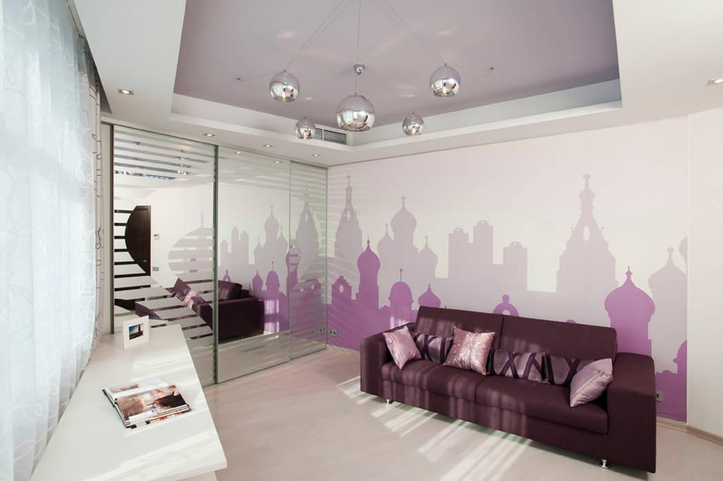 """Дизайн квартиры """"Квартира для современной семьи"""" : Детские комнаты в . Автор – Samarina projects"""