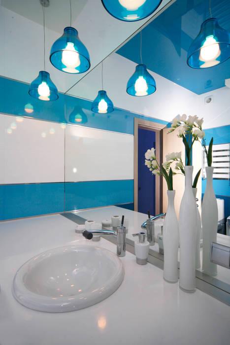 """Дизайн квартиры """"Космос"""": Ванные комнаты в . Автор – Samarina projects"""