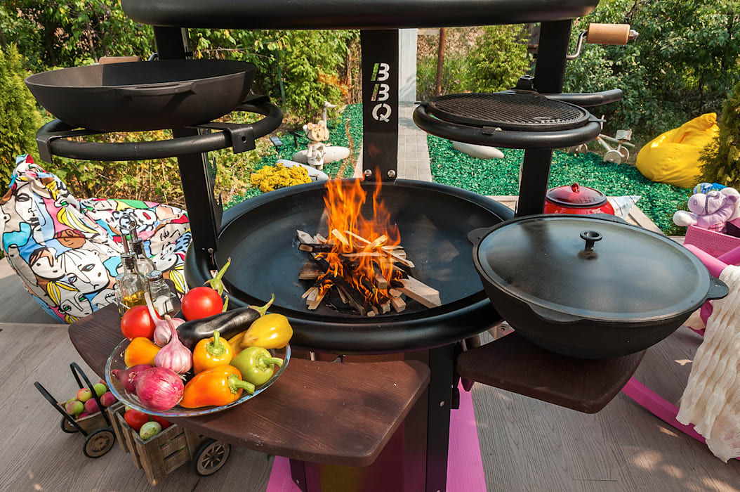 Bureau GN Garden Fire pits & barbecues