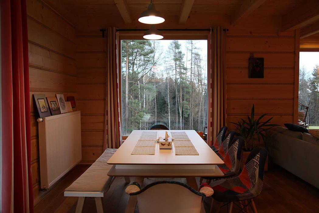 Dining room by LK & Projekt Sp. z o.o.