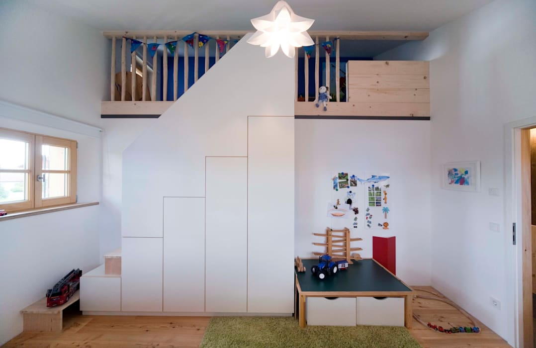 Nursery/kid's room by w. raum Architektur + Innenarchitektur