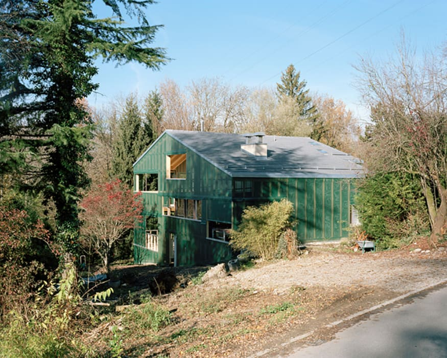 modern  by Jomini & Zimmermann Architekten, Modern