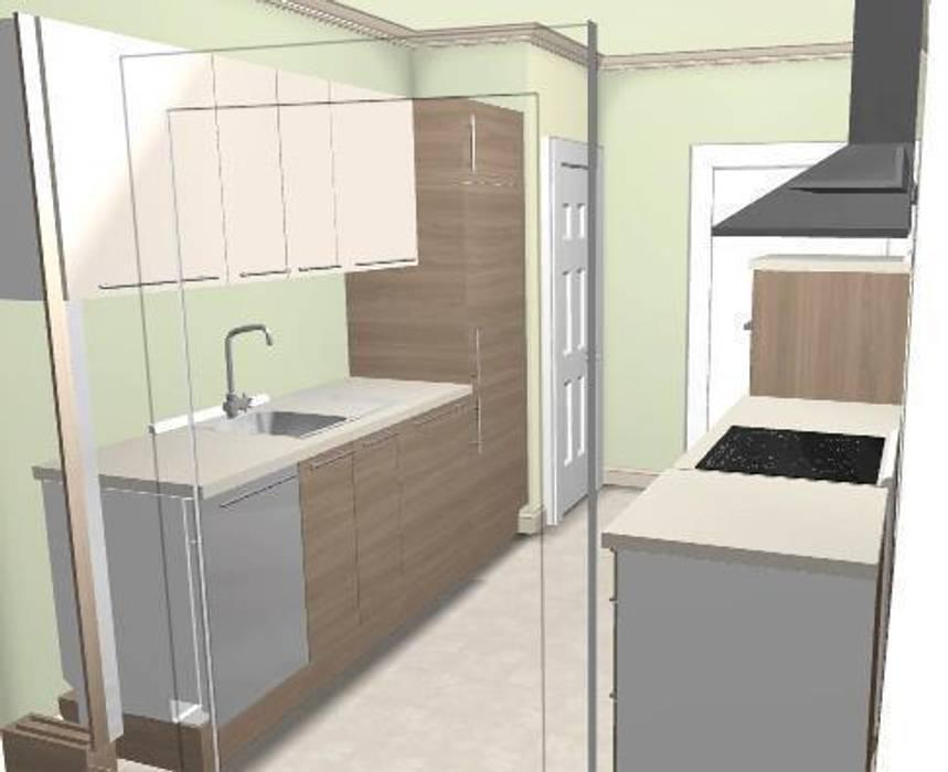Panification IKEA: Cuisine de style de style Moderne par CosyNEVE (Amandine REVEL)