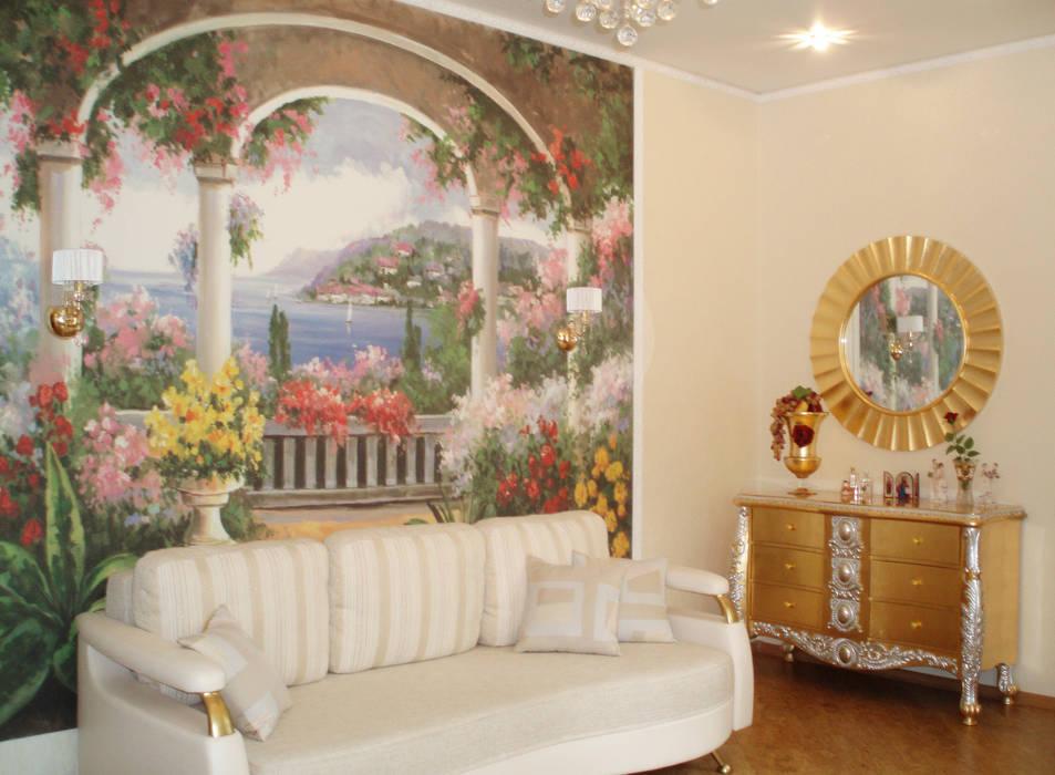 Stanza degli ospiti: Camera da letto in stile in stile Eclettico di STUDIO INTERIOR DESIGN DI ELENA SHTURBABINA