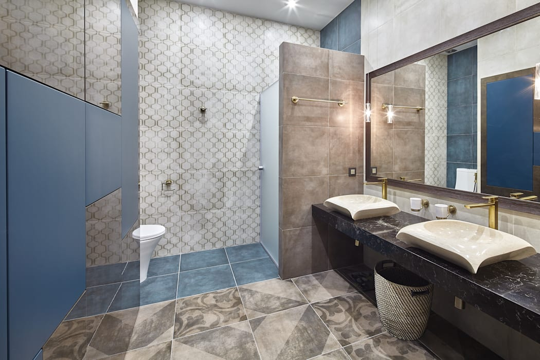 Ванная комната.: Ванные комнаты в . Автор – LKinterior