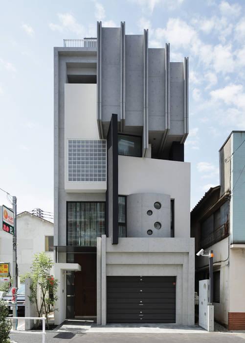 Casas estilo moderno: ideas, arquitectura e imágenes de 平野智司計画工房 Moderno