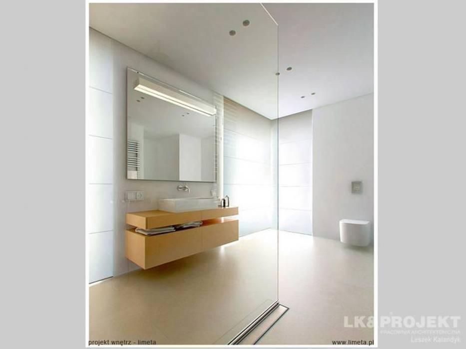 LK&803 Nowoczesna łazienka od LK & Projekt Sp. z o.o. Nowoczesny