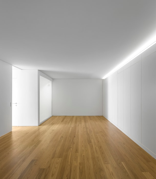 Спальни в . Автор – João Tiago Aguiar, arquitectos, Минимализм