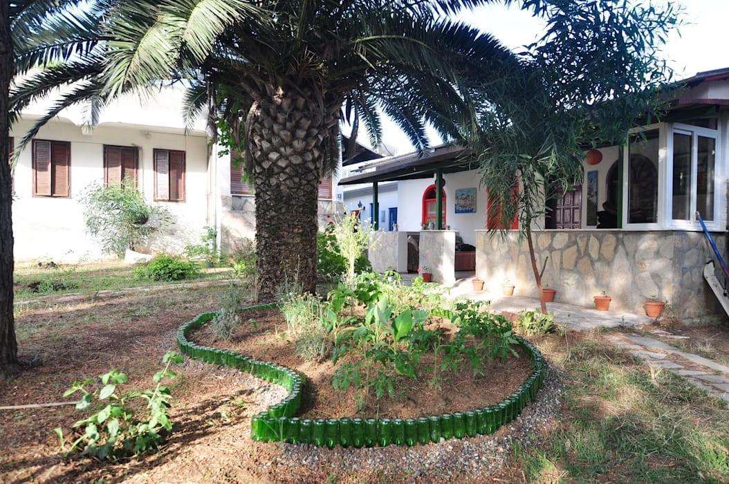 Angora Camping Jardines de estilo mediterráneo