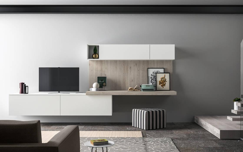 Ambiente living c panoramica soggiorno moderno di nova for Ambiente soggiorno moderno
