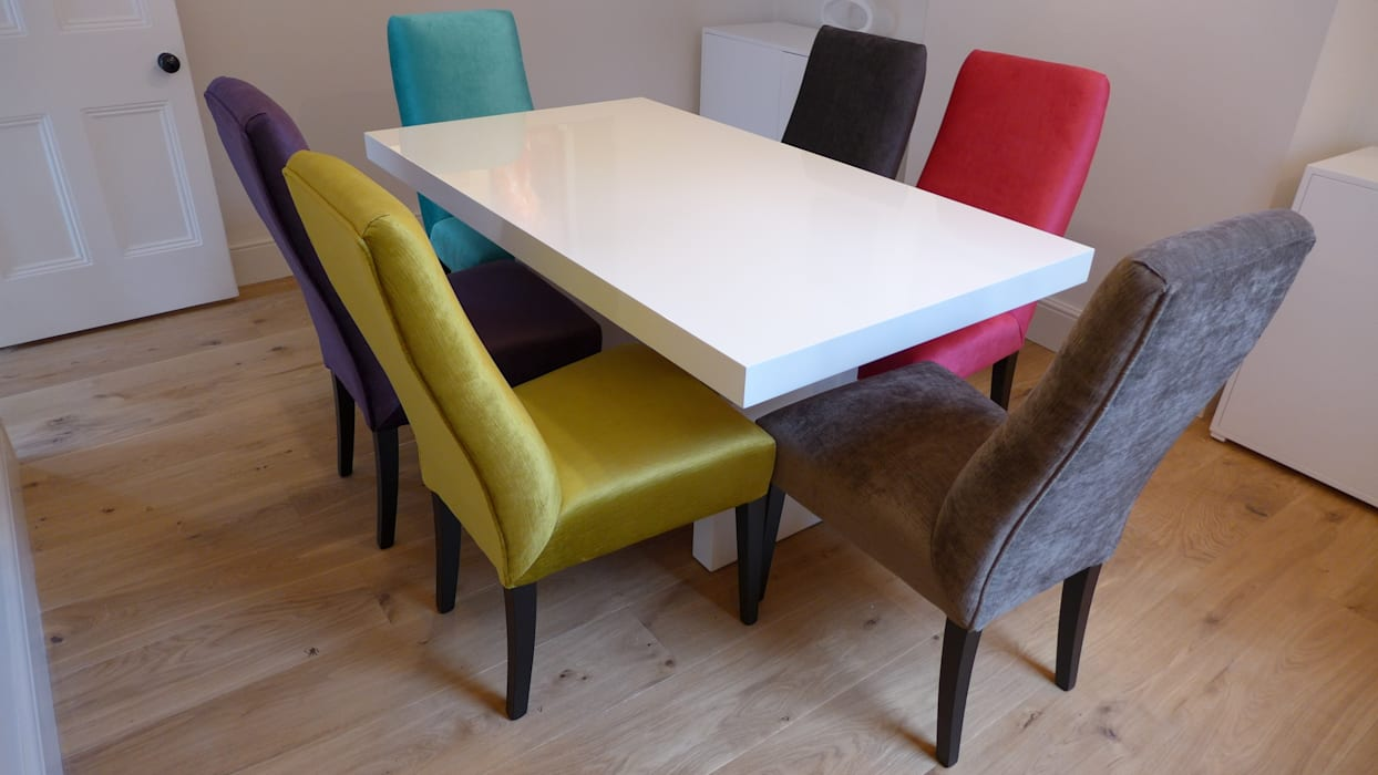 online store 43595 9ac17 Multicoloured dining chairs: dining room by style within ...
