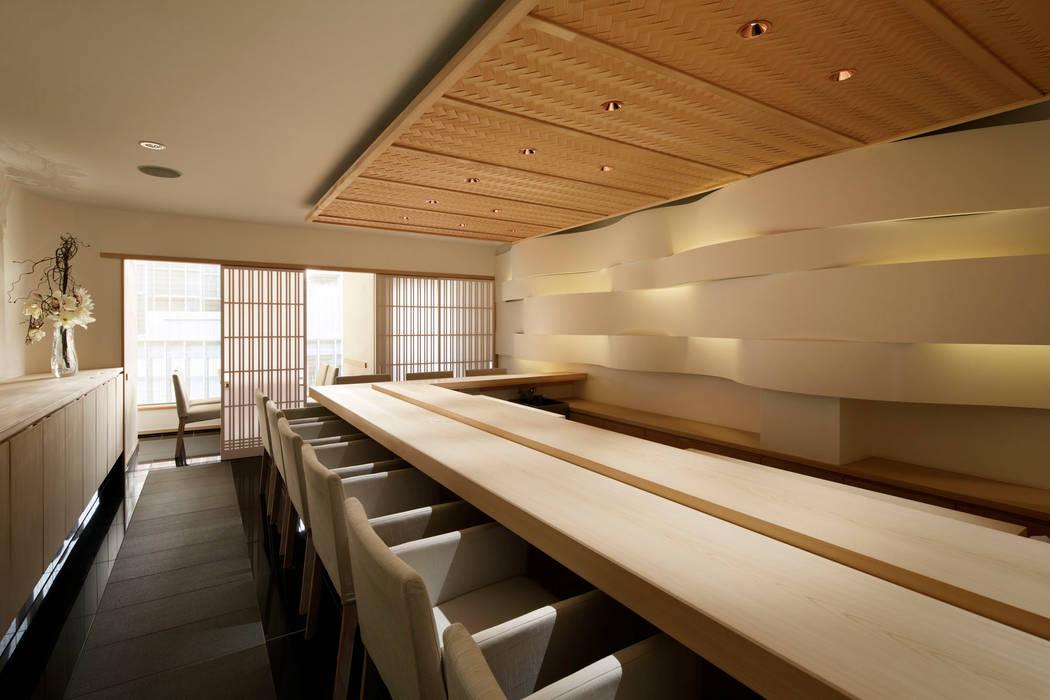 sushi nishioka Gastronomía de estilo minimalista de mattch Minimalista