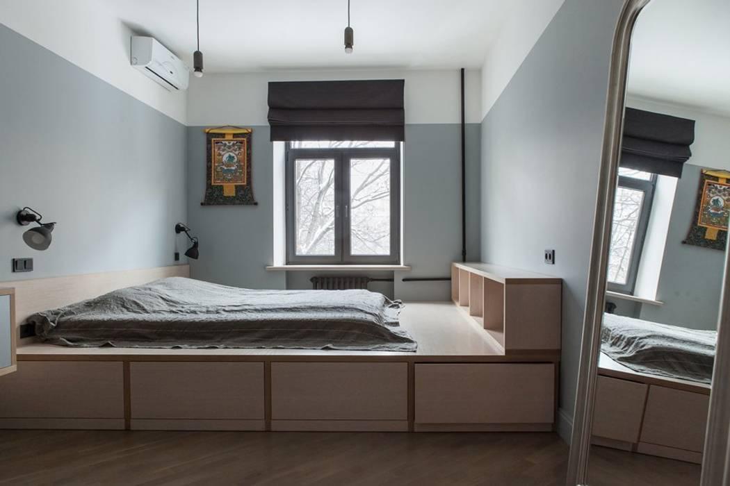 Flat K: Спальни в . Автор – KOPNA,