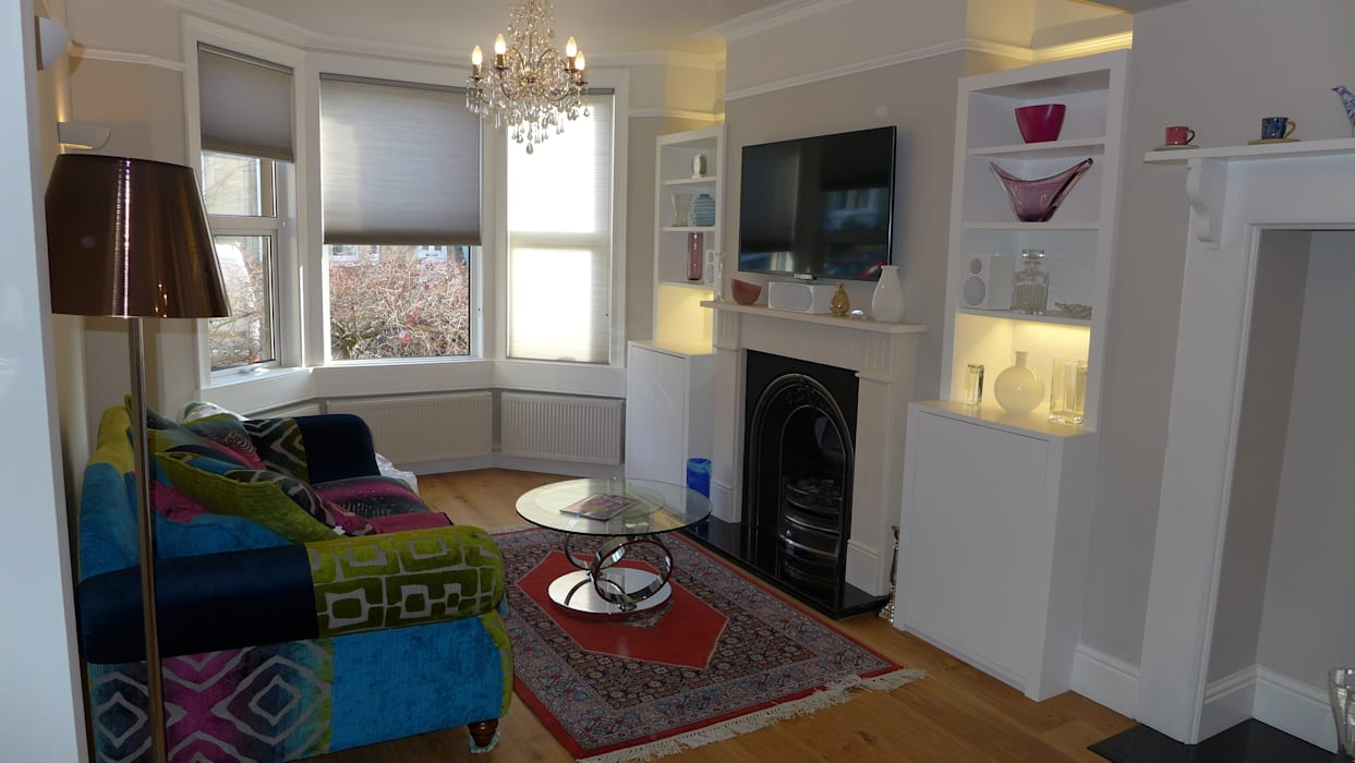 Edwardian Living Room: Living Room By Style Within