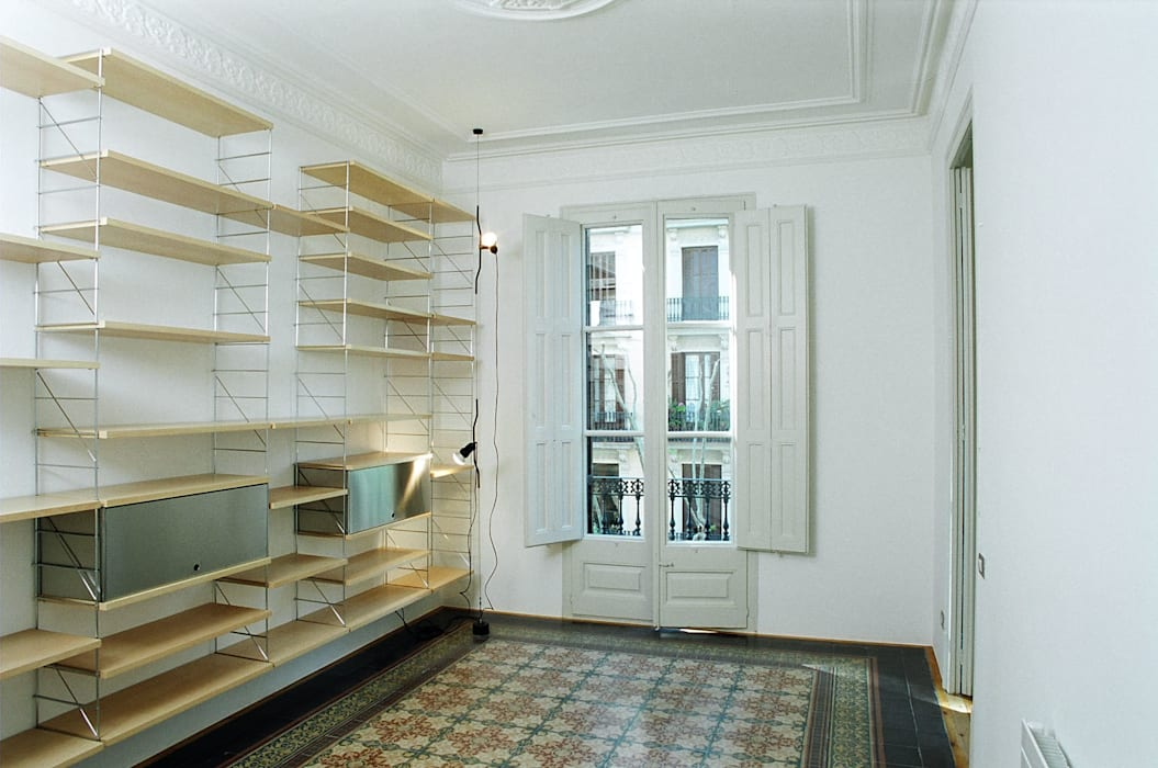 4+1 arquitectes Eclectic style study/office