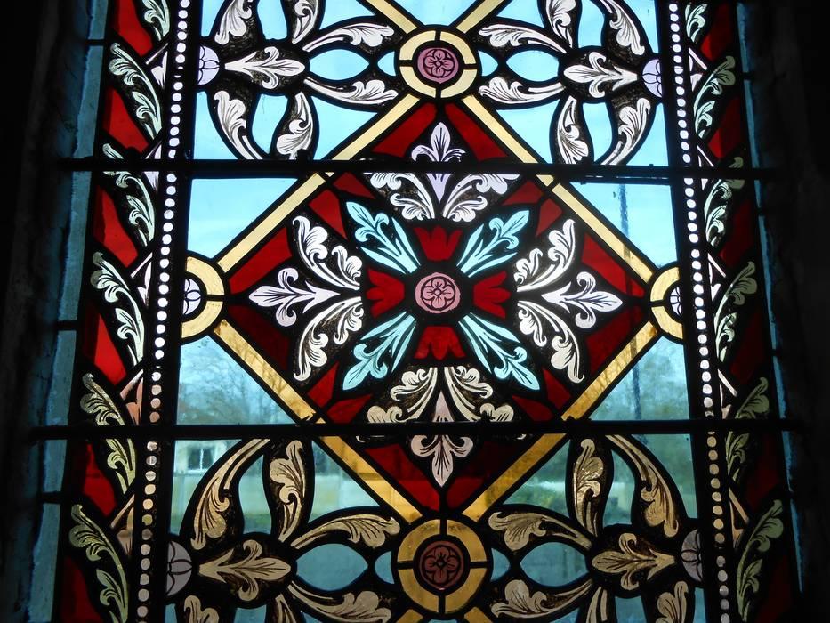 vitrail peinture sur verre: Lieux d'événements de style  par PAGUET VITRAUX