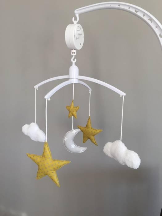Petit13or Dormitorios infantiles Juguetes Algodón Amarillo