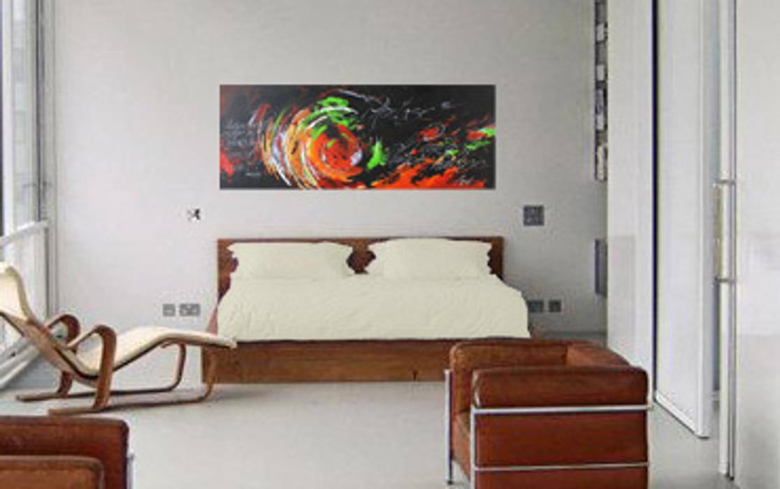 """Wandgestaltung durch acrylbild """"phantasie"""" moderne ..."""