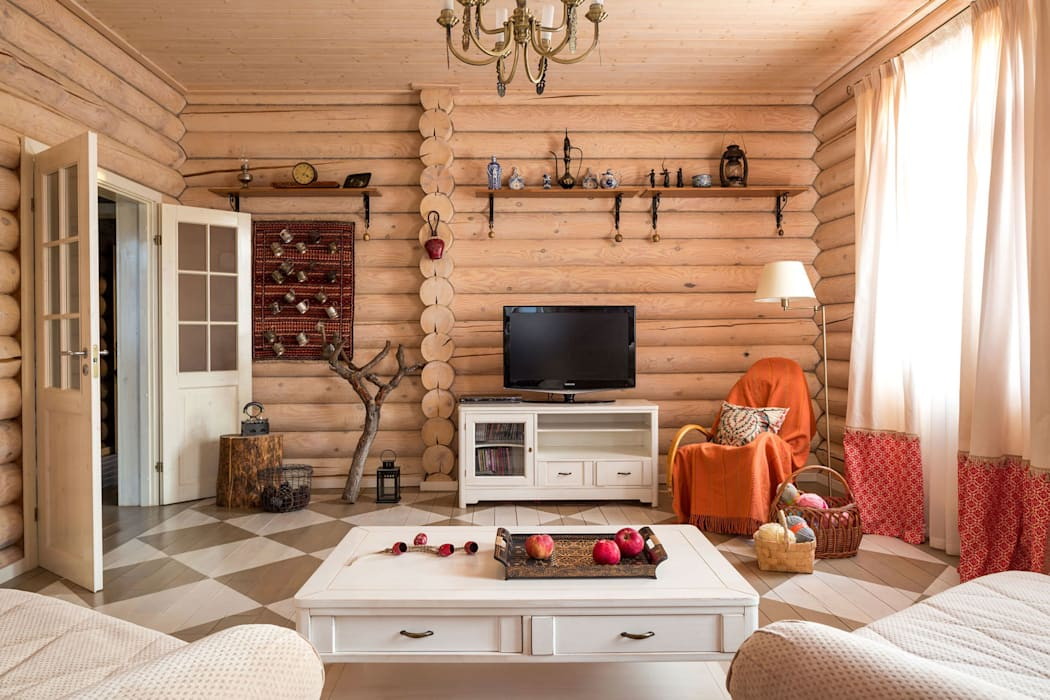 Living room by Tatiana Ivanova Design,