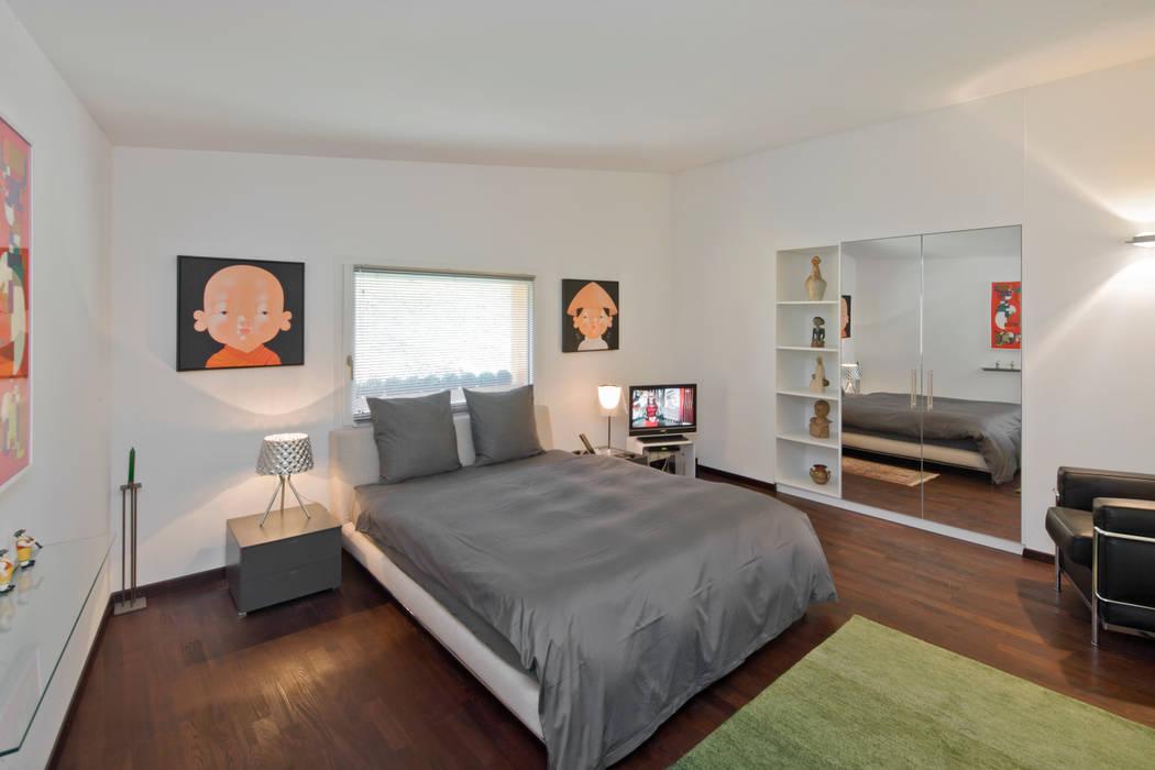 Chalet diana in gspon moderne schlafzimmer von dreipunkt ag ...