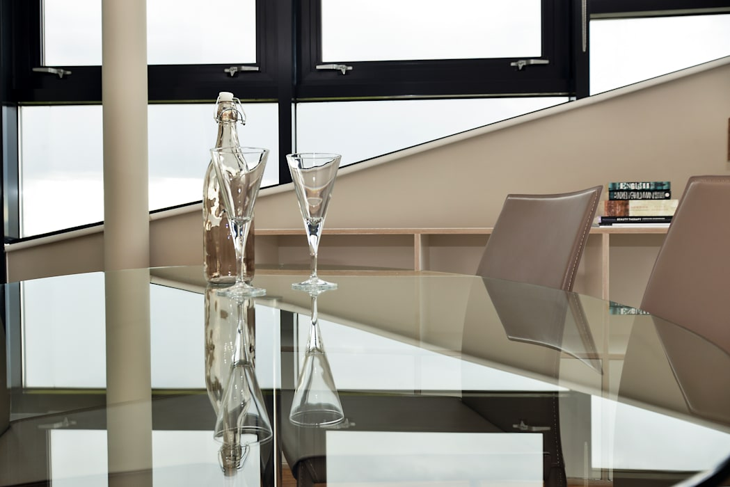 Dining area - close up Modern Dining Room by Cathy Phillips & Co Modern