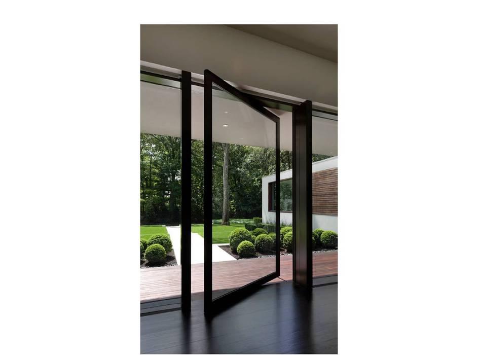 New Canaan Residence Modern windows & doors by Specht Architects Modern