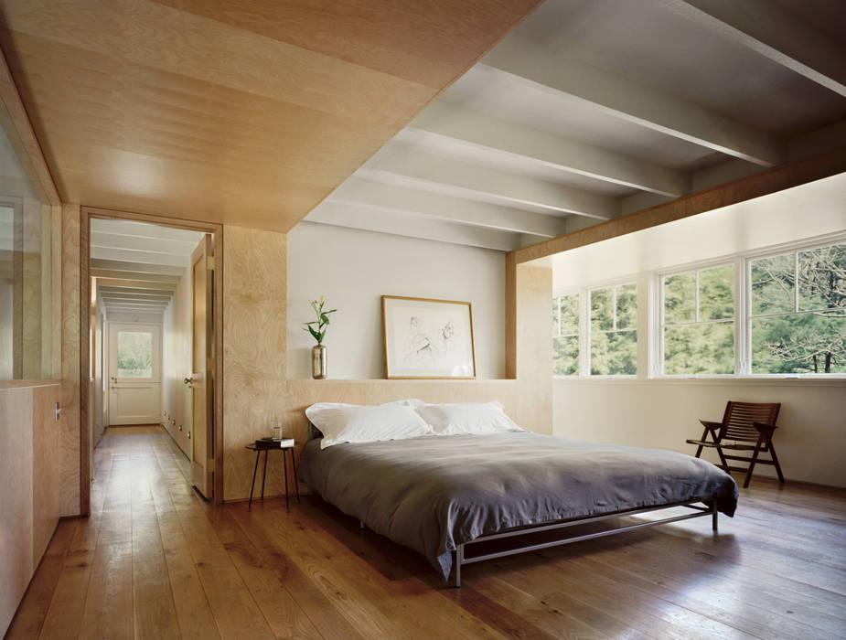 Modern Barn Specht Architects Quartos modernos