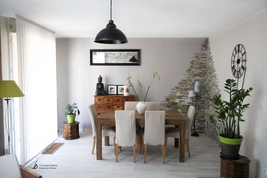 Dining room by Violaine Denis,