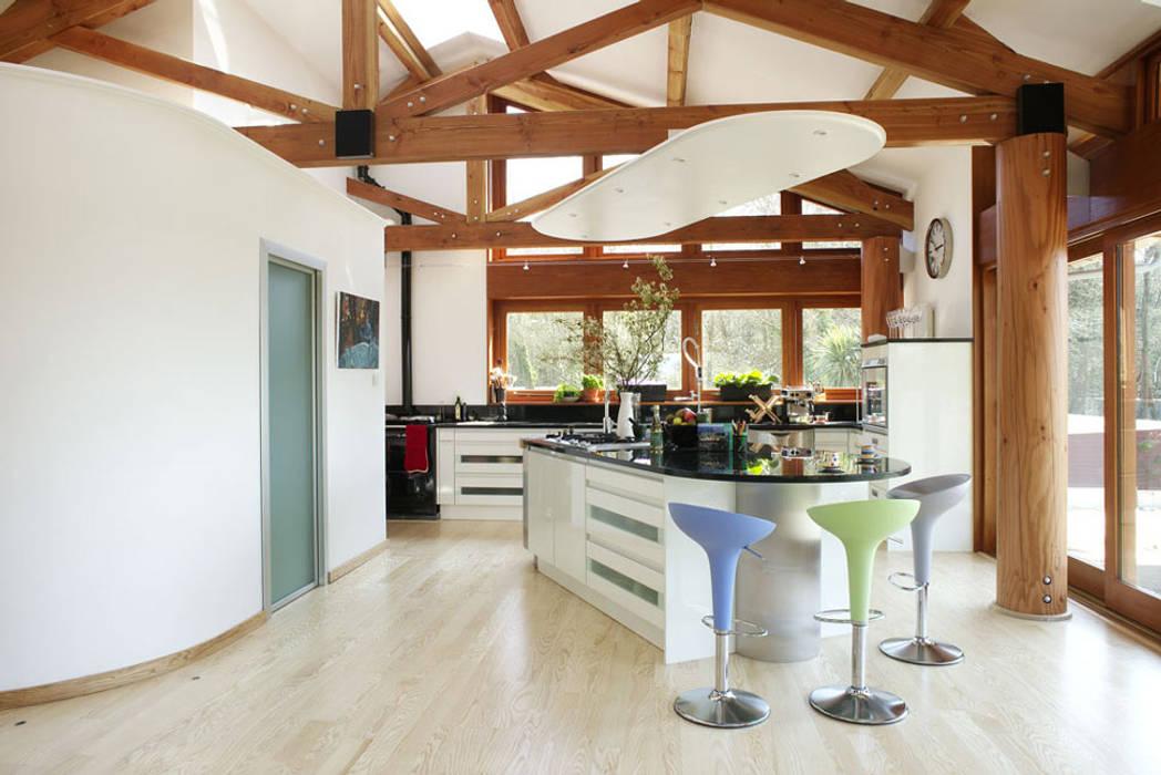 Hillside Farm Kitchen One Cozinhas modernas por DUA Architecture LLP Moderno