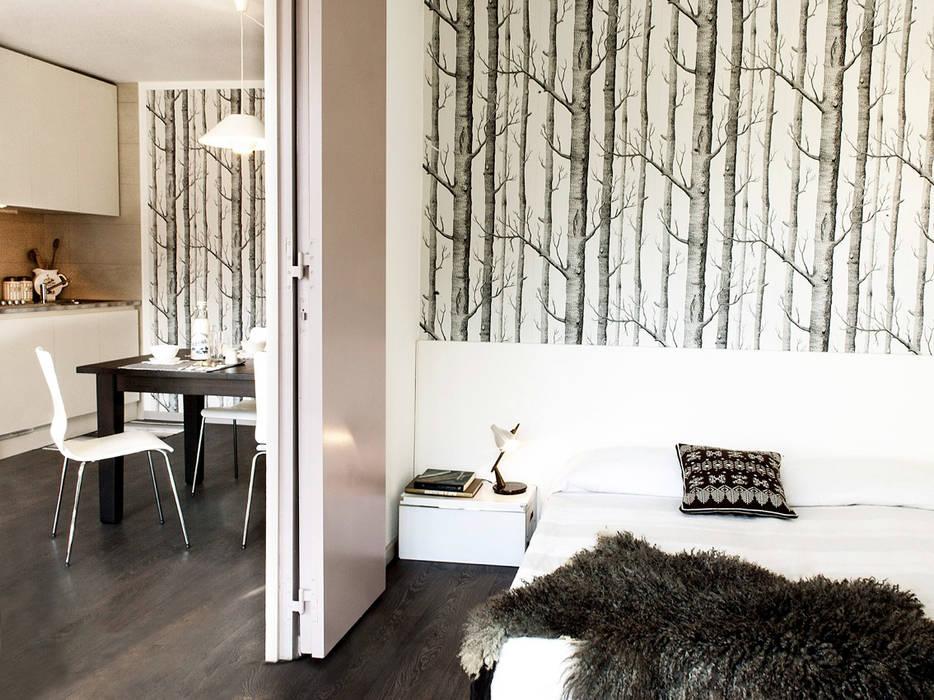 Cuartos de estilo moderno de marta novarini architetto Moderno