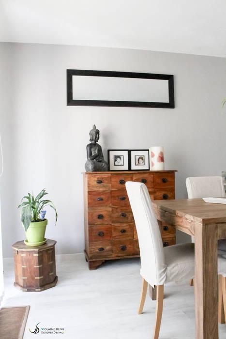 Décoration d'une pièce à vivre: Salle à manger de style de style Moderne par Violaine Denis