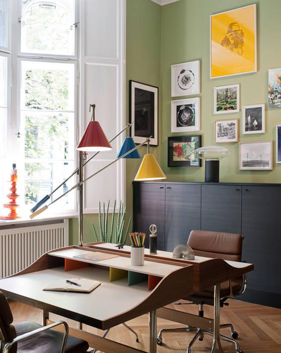 The Art of Viewing:  Arbeitszimmer von Gisbert Pöppler Architektur Interieur