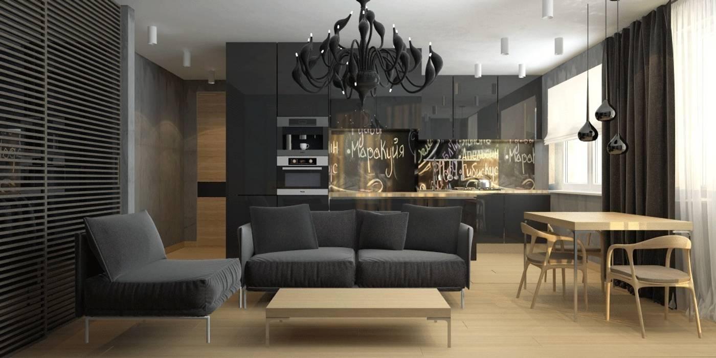 Modern Living Room by Smirnova Luba Modern