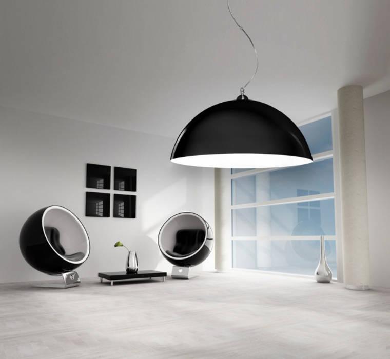 Lampa Luminato jako element dekoracji: styl , w kategorii Salon zaprojektowany przez Luxum