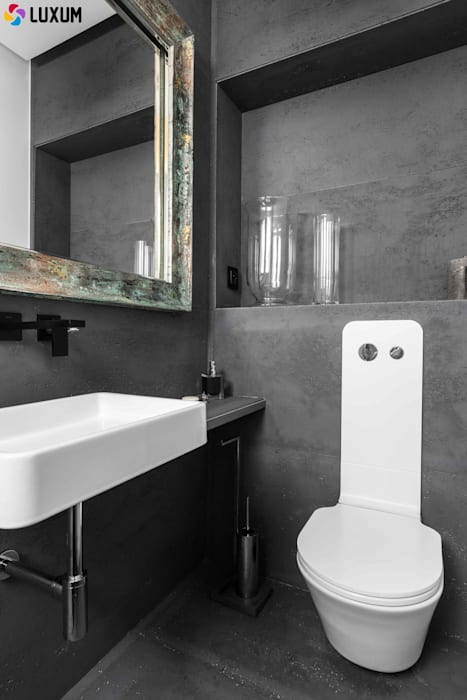 Beton Architektoniczny Od Luxum Styl W Kategorii łazienka