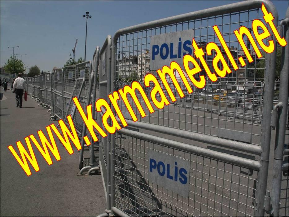 KARMA METAL – KARMA METAL-Polis Barikatları Ve Güvenlik Bariyerleri:  tarz Evler, Endüstriyel