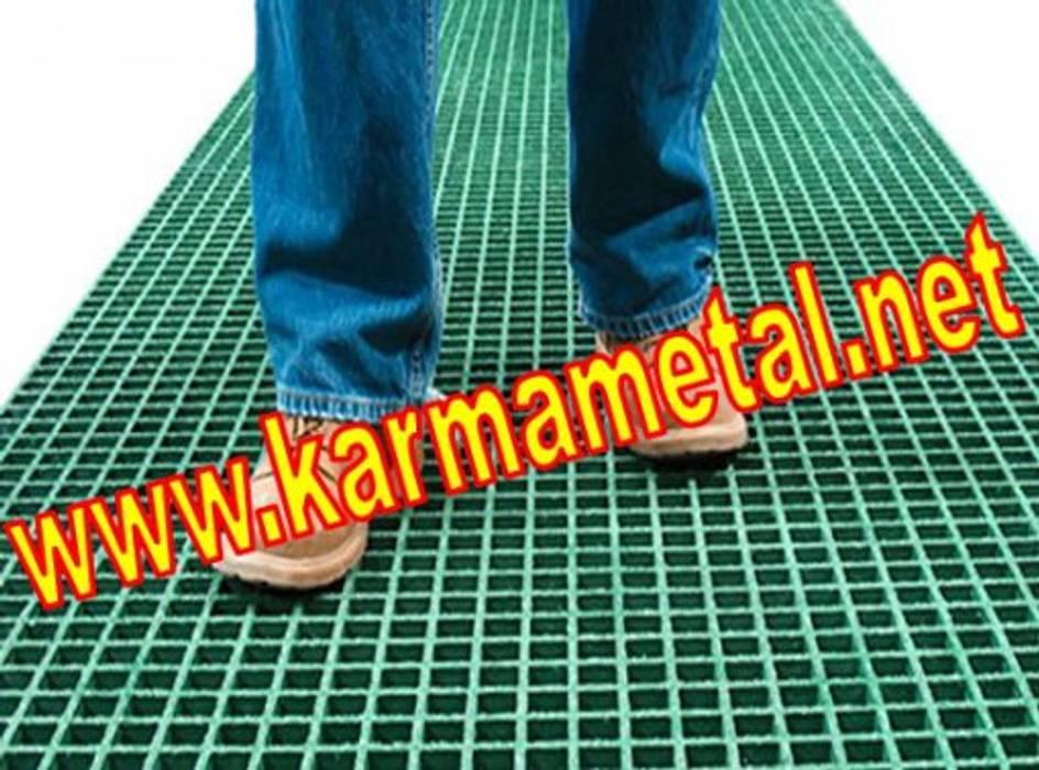 KARMA METAL-Ctp Izgara Kompozit Plastik Platform Izgara Izgarası ölçüleri Endüstriyel Garaj / Hangar KARMA METAL Endüstriyel