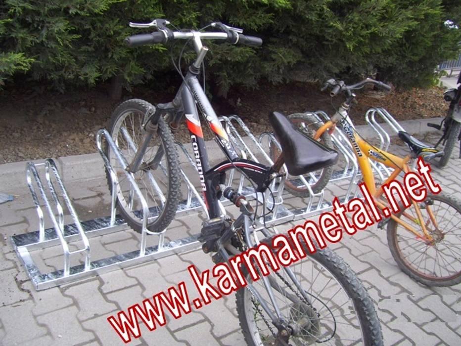 KARMA METAL – KARMA METAL -Bisiklet Parkı İmalatı Ve Park Demiri:  tarz Koridor ve Hol