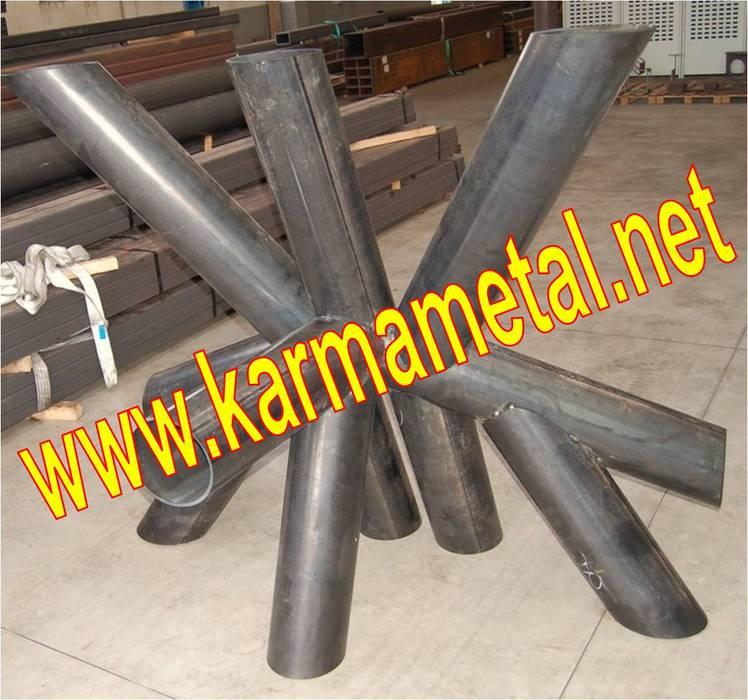 KARMA METAL-cnc lazer boru kesim profil kesme kurt ağzı açma KARMA METAL Endüstriyel Mutfak