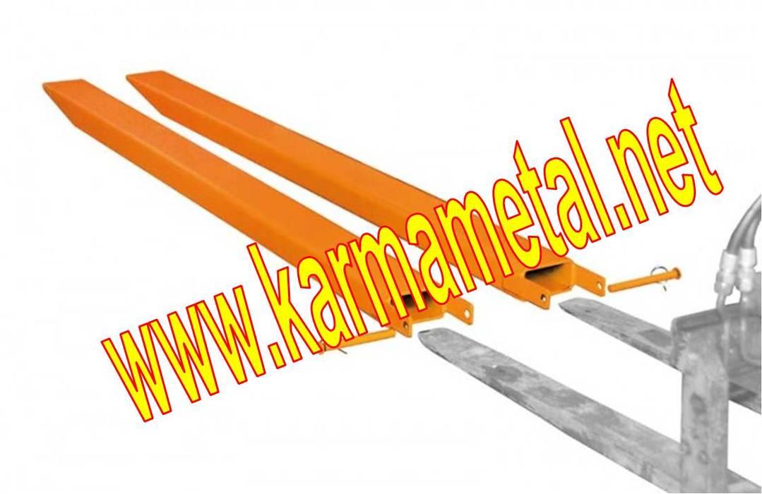 KARMA METAL – KARMA METAL-forklift çatalı bıçağı uzatma kılıfı atasmani eldiveni imalati:  tarz Multimedya Odası, Endüstriyel