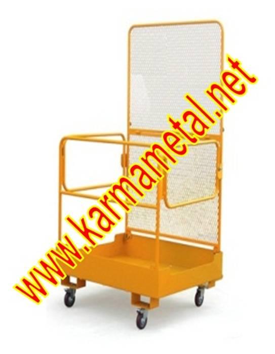 KARMA METAL – KARMA METAL-Forklift İnsan Personel  Adam Taşıma Kaldırma Sepeti:  tarz Oturma Odası