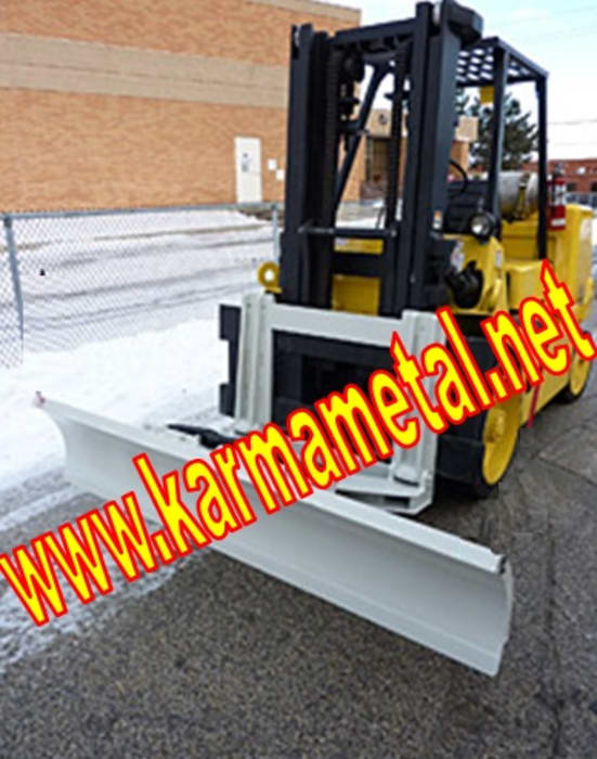 KARMA METAL-Forklift Kar Kum Mıcır Küreme Ataşmanı Kepçesi Endüstriyel Fitness Odası KARMA METAL Endüstriyel