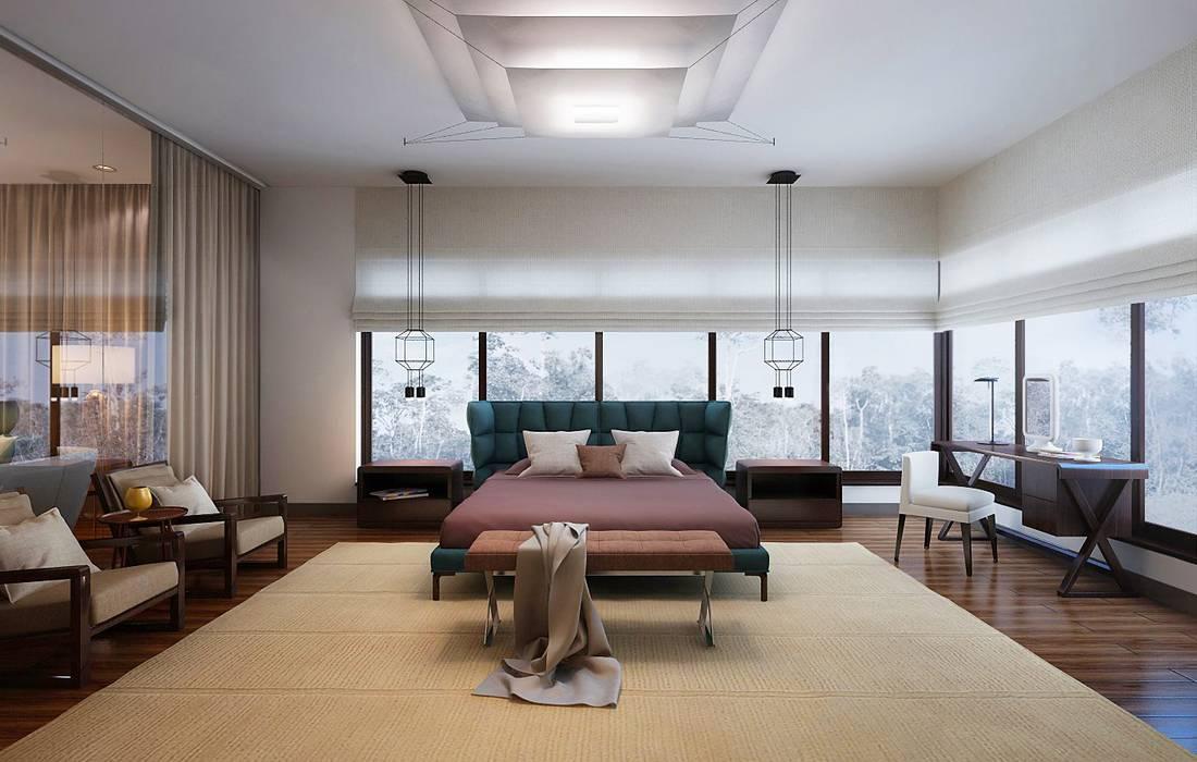 Bedroom by KAPRANDESIGN, Tropical