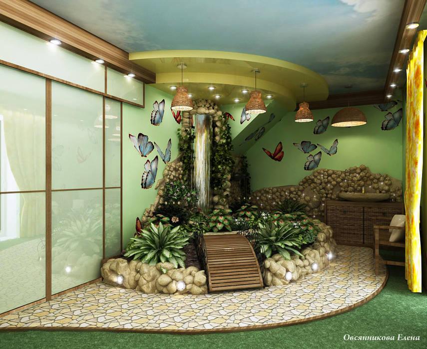 Зимний сад Зимний сад в средиземноморском стиле от Елена Овсянникова Средиземноморский