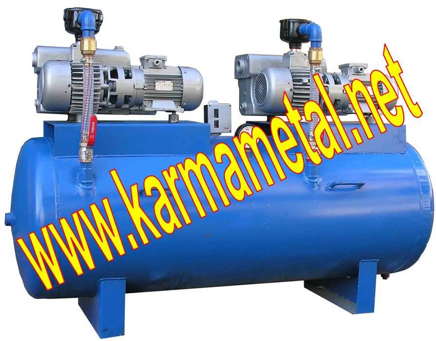 KARMA METAL - Paslanmaz Negatif Basınçlı Vakum Tankı Tüpü Endüstriyel Koridor, Hol & Merdivenler KARMA METAL Endüstriyel