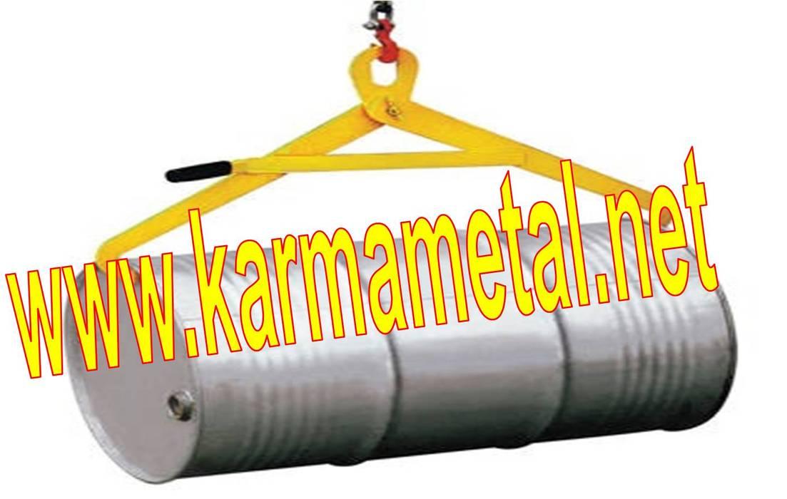 KARMA METAL-forklift varil taşıma kaldırma çevirme ataşmanı aparatı Endüstriyel Balkon, Veranda & Teras KARMA METAL Endüstriyel