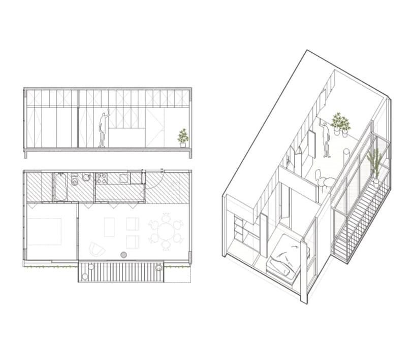modern  oleh IR arquitectura, Modern