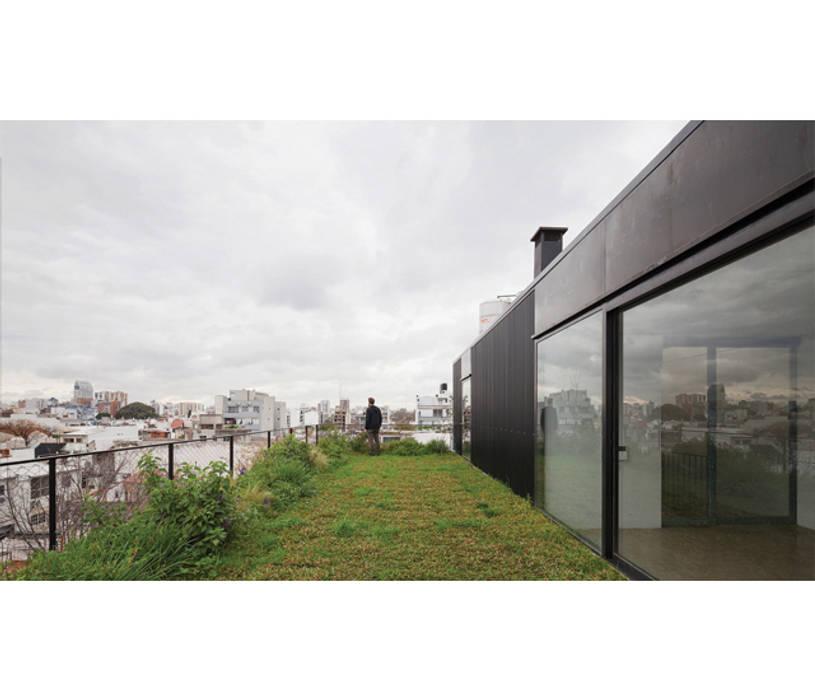 Terrazas de estilo  por IR arquitectura, Moderno Vidrio