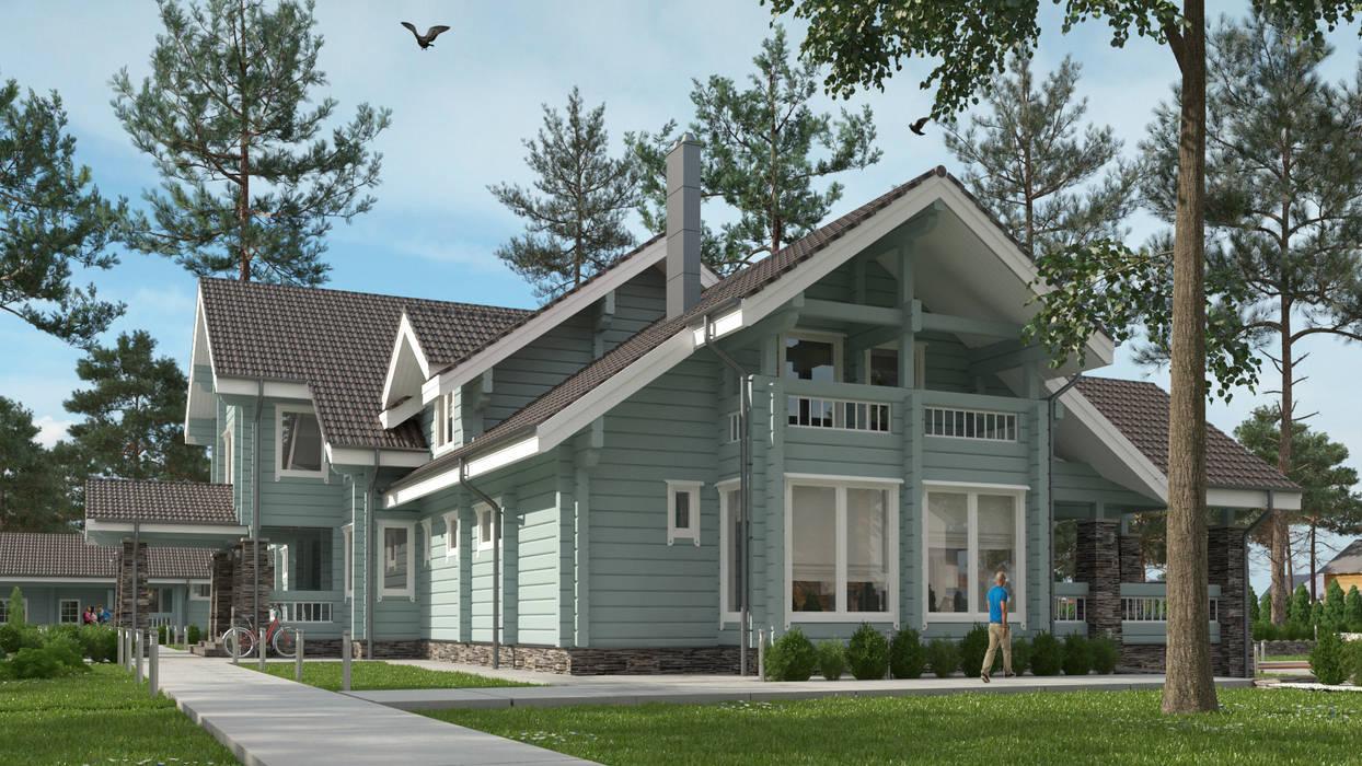 Дом в Конаково Дома в скандинавском стиле от Studio of Architecture and Design 'St.art' Скандинавский