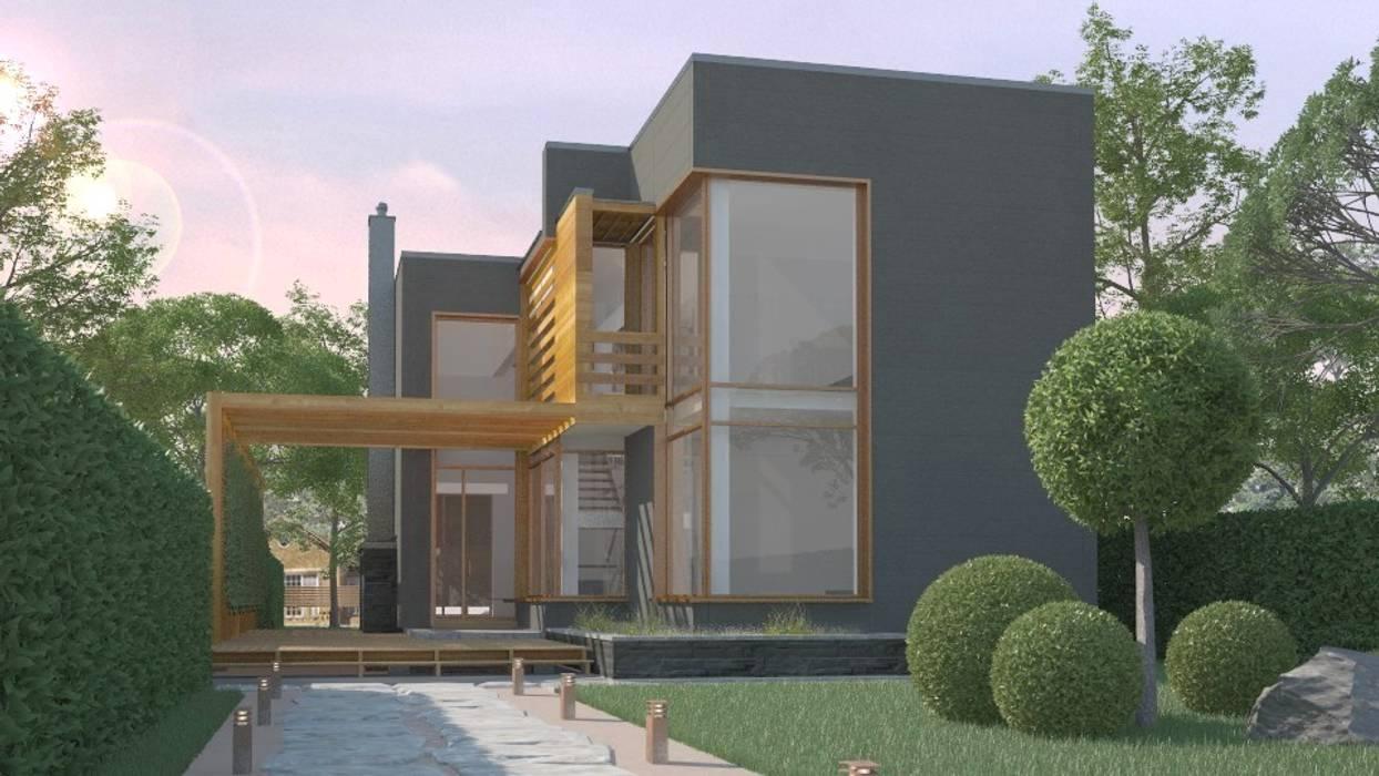 15/80 Дома в стиле минимализм от Studio of Architecture and Design 'St.art' Минимализм